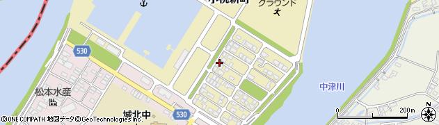 大分県中津市小祝新町34周辺の地図