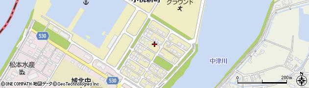 大分県中津市小祝新町42周辺の地図