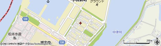 大分県中津市小祝新町38周辺の地図