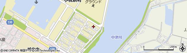 大分県中津市小祝新町59周辺の地図