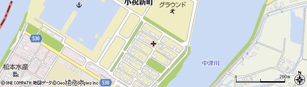 大分県中津市小祝新町46周辺の地図