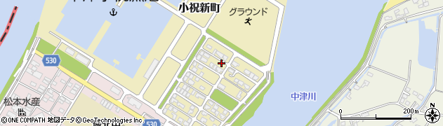 大分県中津市小祝新町48周辺の地図