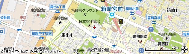 福岡県診療放射線技師会(公益社団法人)周辺の地図