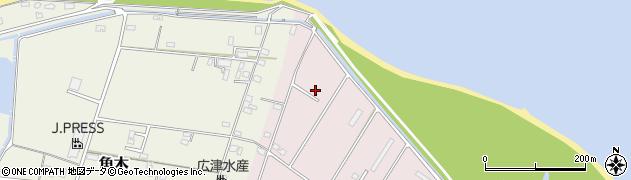 大分県中津市大塚846周辺の地図