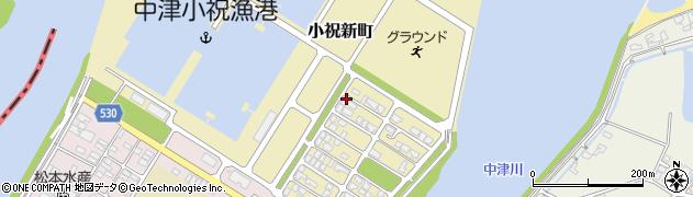 大分県中津市小祝新町51周辺の地図