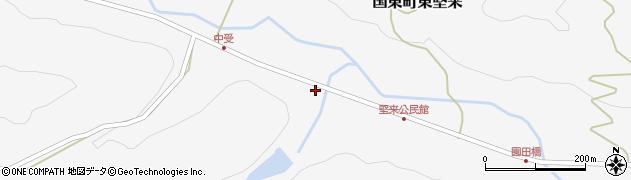 大分県国東市国東町東堅来2102周辺の地図