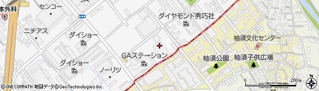 創価学会九州文化会館県事務局周辺の地図