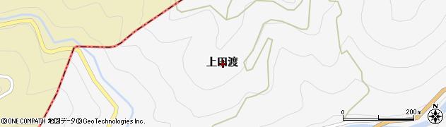 愛媛県喜多郡内子町上田渡周辺の地図