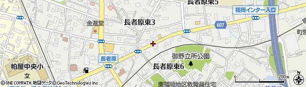 福岡県粕屋町(糟屋郡)長者原東周辺の地図
