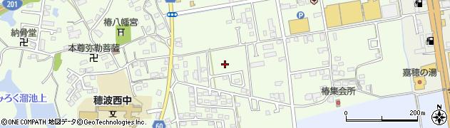 福岡県飯塚市椿周辺の地図
