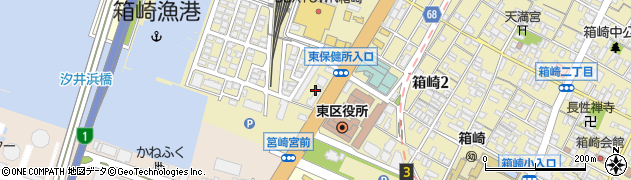 三菱電機ビルテクノサービス株式会社 九州支社福岡東出張所周辺の地図