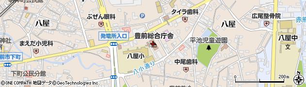 福岡県豊前総合庁舎 京築県土整備事務所道路課建設係周辺の地図