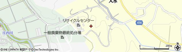 福岡県飯塚市入水周辺の地図