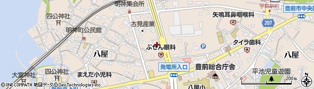 株式会社豊前清掃社周辺の地図