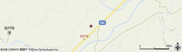 大分県国東市国東町岩戸寺周辺の地図