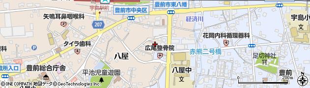 ポピー全家研豊前国支部周辺の地図