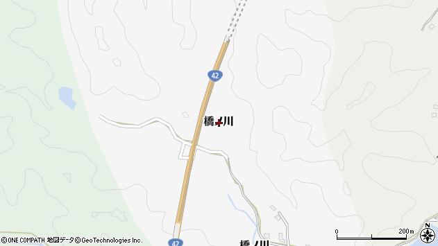 〒649-5337 和歌山県東牟婁郡那智勝浦町橋ノ川の地図