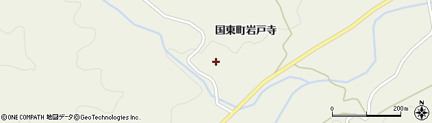 大分県国東市国東町岩戸寺1698周辺の地図