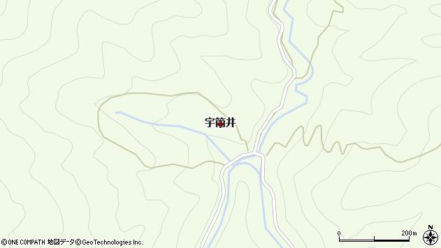 〒649-4214 和歌山県東牟婁郡古座川町宇筒井の地図