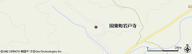 大分県国東市国東町岩戸寺戸城周辺の地図