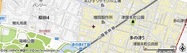 株式会社西日本消防設備周辺の地図