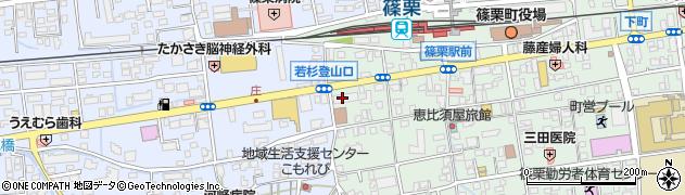ドラッグ新生堂 篠栗店周辺の地図