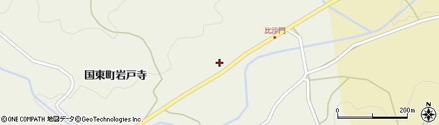 大分県国東市国東町岩戸寺2305周辺の地図
