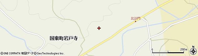 大分県国東市国東町岩戸寺比沙門周辺の地図