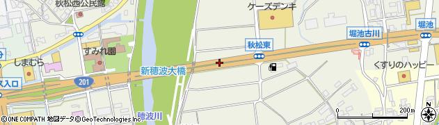 国道201号線周辺の地図