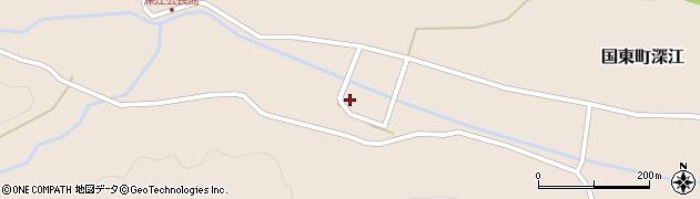 大分県国東市国東町深江352周辺の地図