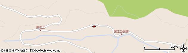 大分県国東市国東町深江周辺の地図
