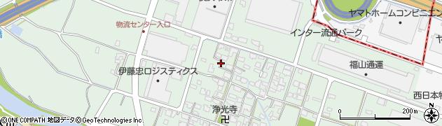 福岡県粕屋町(糟屋郡)江辻周辺の地図