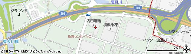 大平紙業株式会社家庭紙物流センター周辺の地図