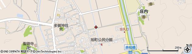 福岡県飯塚市綱分周辺の地図