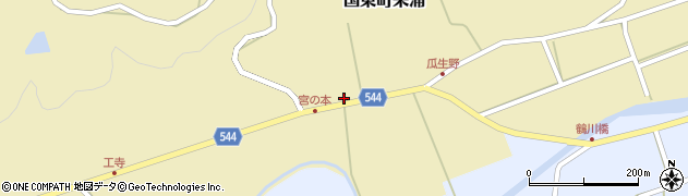 大分県国東市国東町来浦2680周辺の地図