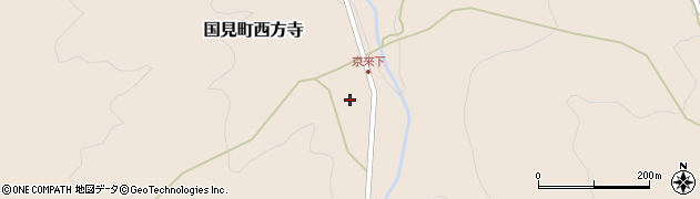 大分県国東市国見町西方寺1381周辺の地図