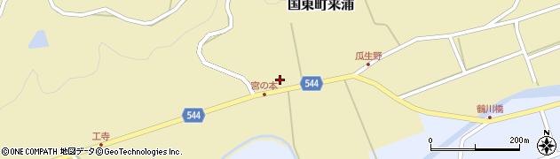 大分県国東市国東町来浦2682周辺の地図