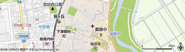 有限会社深田環境衛生周辺の地図