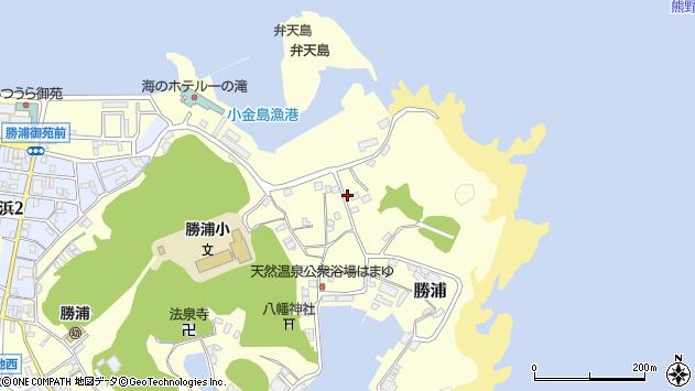 〒649-5334 和歌山県東牟婁郡那智勝浦町勝浦の地図