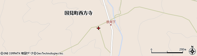 大分県国東市国見町西方寺1373周辺の地図