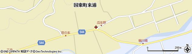 大分県国東市国東町来浦2995周辺の地図