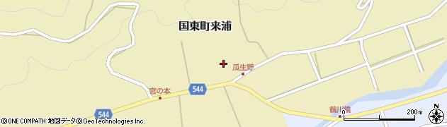 大分県国東市国東町来浦2983周辺の地図