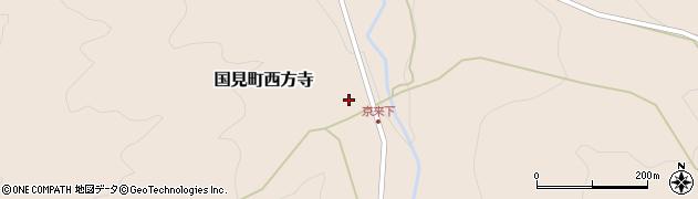 大分県国東市国見町西方寺1466周辺の地図