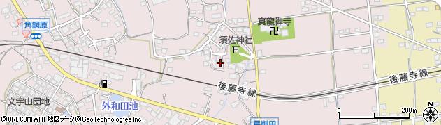 福岡県田川市弓削田周辺の地図
