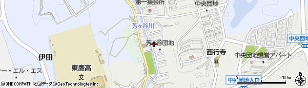 芳ケ谷団地周辺の地図