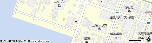 箱崎埠頭株式会社周辺の地図