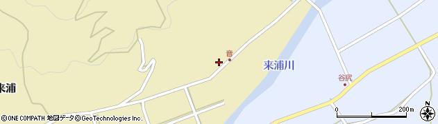 大分県国東市国東町来浦3596周辺の地図