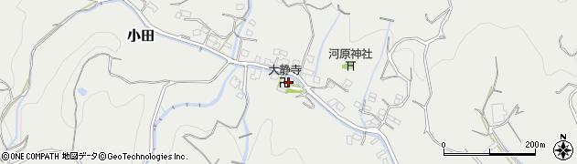 大静寺周辺の地図