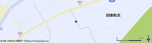 大分県国東市国東町浜4153周辺の地図