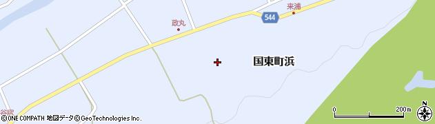 大分県国東市国東町浜4055周辺の地図